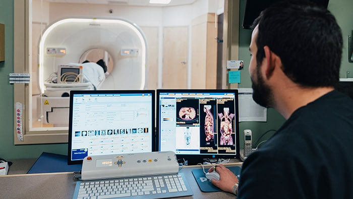 seamless care in diagnostic radiology