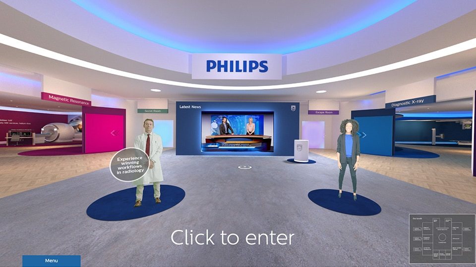 Enter Philips radiology experience
